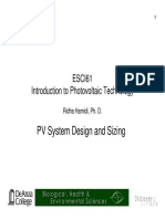 Esci 61 Pv System Design and Sizing Slides