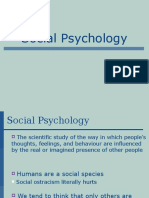 Social Psychology Presentation