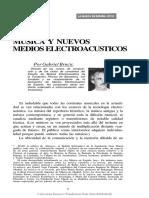 Brncid, Gabriel_Música y nuevos medios electroacústicos