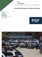 Estopim de Crise, Salário de Policial Sobe Abaixo Da Inflação Em 8 Estados - 12-02-2017 - Cotidiano - Folha de S