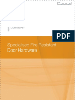 Lorient Door Hardware Brochure