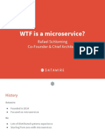 WTF is a Microservice - Rafael Schloming, Datawire