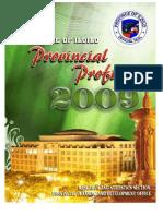 Provincial Profile of the Province of Iloilo, Philippines