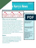 feb 17 newsletter