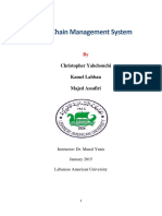 Supply Chain Management System (Report)