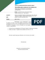 Informe Presentacion de Documentos