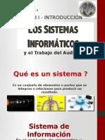 Los Sistemas Informaticos y El Auditor