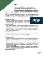 SEC Anexo II Calendario Secundaria Madrid