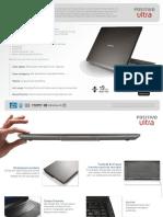 Ficha Tecnica Ultrabook Positivo Ultra X8000 3332030