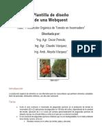 webquest 2 prod organica tomate