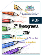 2ºcronograma -2017