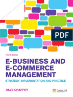 Cover & Table of Contents - E-Business and E-Commerce
