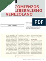 Los Comienzos Del Liberalismo Venezolano