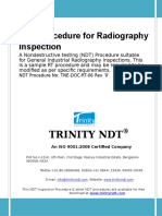 Radiography Test Inspection Free NDT Sample Procedure 1 4