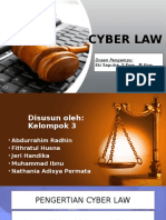 Cyber Law Ppt Fb