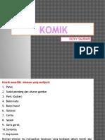 KOMIK (Elemen Komik, Storyline, Sinopsis) Ppt