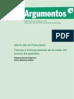 16.Causas y Consecuencias de La Caida Del Precio Del Petroleo