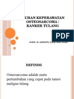 Asuhan Keperawatan Osteosarcoma