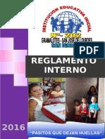 Reglamento Interno Inicial 2016 Gramalotes