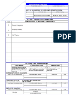 Template Performance Rating Form