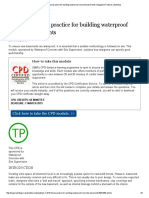 CPD 1 2015_ Best Practice for Building Waterproof Concrete Basements _ Magazine Features _ Building