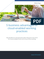 HTL White Paper 5 Business Advantages of Cloud Enabled Working Practices