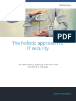 HTL White Paper the Holistic Approach to IT Security