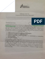 Informe sobre la Corporación Financiera Nacional