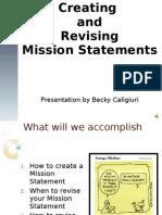 Caligiuri Mission Statement