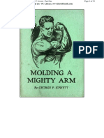 Jowett Molding a MIghty Arm