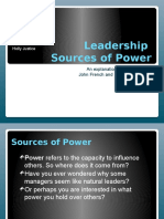 leadershipsourcesofpower-140224174522-phpapp02