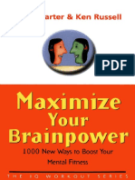Maximize Your BrainPower 1000 New Ways To Boost Your Mental Fitness - Philip Carter.pdf