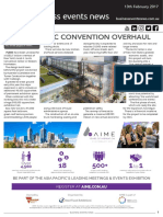Business Events News for Mon 13 Feb 2017 - NYC convention center extension, MEA reboot, Darwin lights up, AACB, AIME welcome show, NZ conference traffic and more