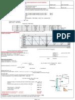 Design Calculation for Gate