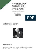 Sixto Duran Ballen