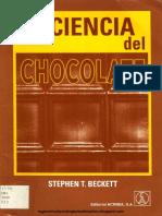 Ciencia Del Chocolate - Stephen T. Beckett