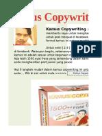 Skrip Copywriting