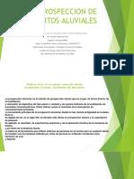 Prospeccion de Depositos Aluviales