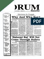 The Forum Gazette Vol. 4 Nos. 12 & 13 July 1-30, 1989