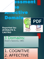 Jona- Assessment in Affective Domain