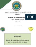 Aluviales Unidad IV 2016