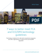7 Ways to Better Meet Fca and Icodpa Technology Guidelines