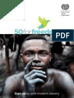50FF End Modern Slavery