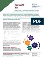 Transforming Nonprofit Business Models 2014