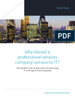 Why Should a Professional Services Company Outsource IT?