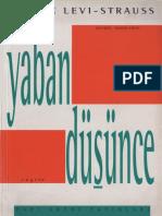 Claude Levi-Strauss - Yaban Düşünce.pdf