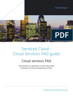 Serviced Cloud Cloud Services Faq Guide