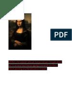 MONA LISA Adalah Sebuah Karya Lukisan Minyak Abad Ke