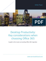 Desktop Productivity Key Considerations When Choosing Office 365