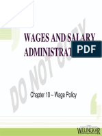 Ch 10 Wage Policy
